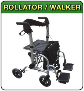 Rollator walker at 1st Step Mobility