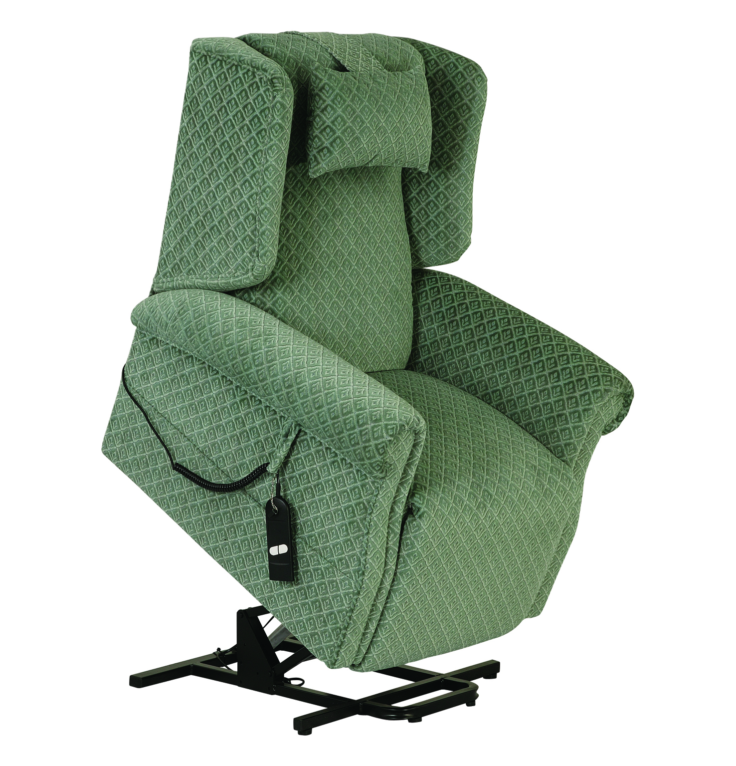 These Chairs Only Have 2 Simple To Push Buttons On The Hand Control Unit  Making Them Very Easy To Use. The Recline Button Will Raise The Leg Section  And ...