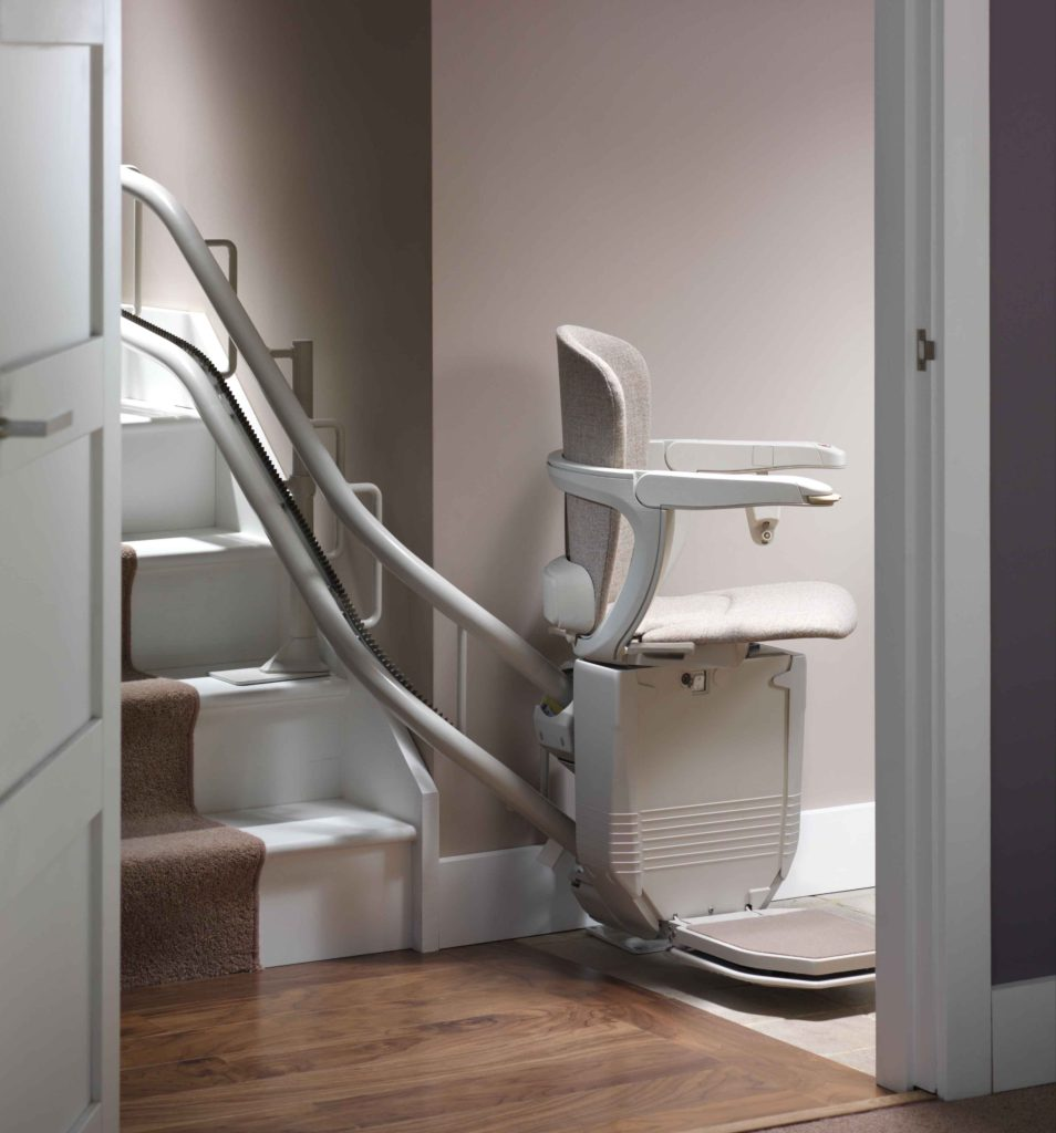 Stannah Curved Stair Lift 1st Step Mobility