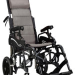 Padded wheelchair