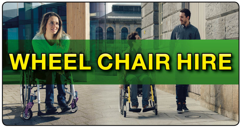 Wheelchair hire at 1st Step Mobility