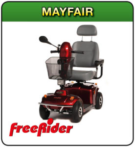 Mayfair free rider mobility scooter