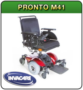 Pronto M41 powerchair at 1st Step Mobility