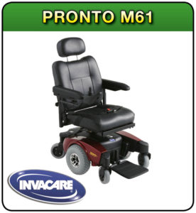 Pronto M61 powerchair at 1st Step Mobility