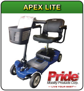Apex lite mobility scooter