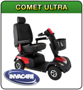 Comet ultra mobility scooter