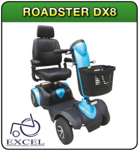 Roadster DX8 mobility scooter