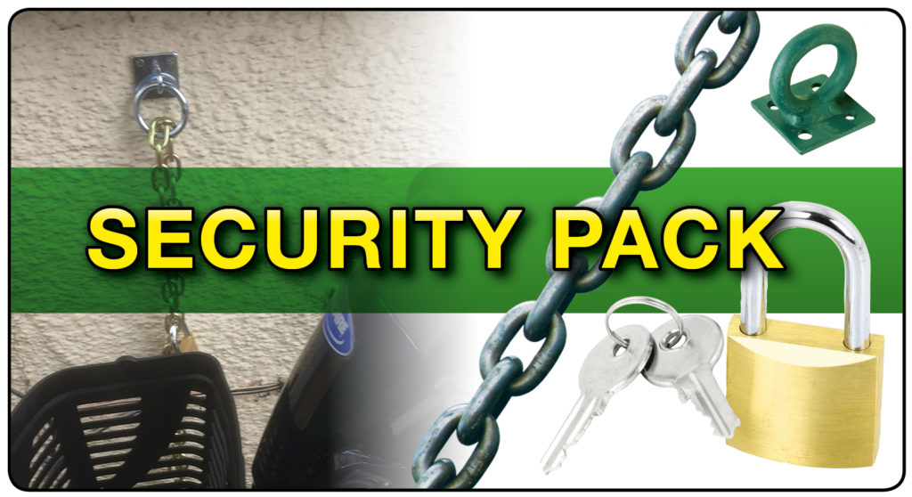 Security pack at 1st Step Mobility