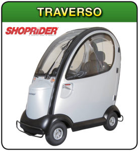 Traverso shoprider mobility scooter