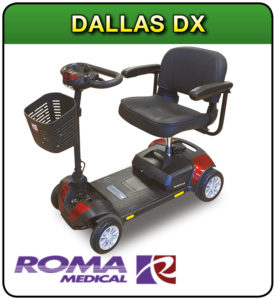 Dallas DX mobility scooter