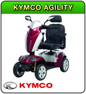 KYMCOA Agility mobility scooter