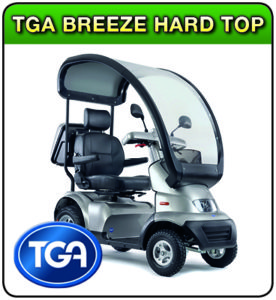 TGA Breeze Hard Top mobility scooter