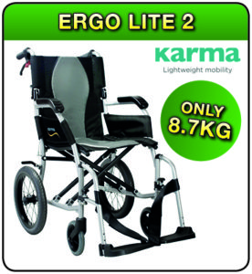 Ergo Lite 2 wheelchair available at 1st Step Mobility