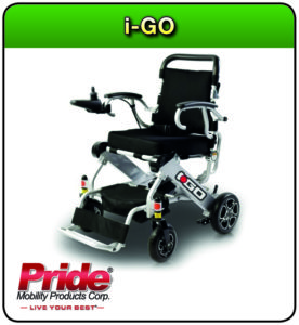 I-GO powerchair at 1st 1st step Mobility
