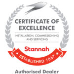 Stannah certificate of excellence