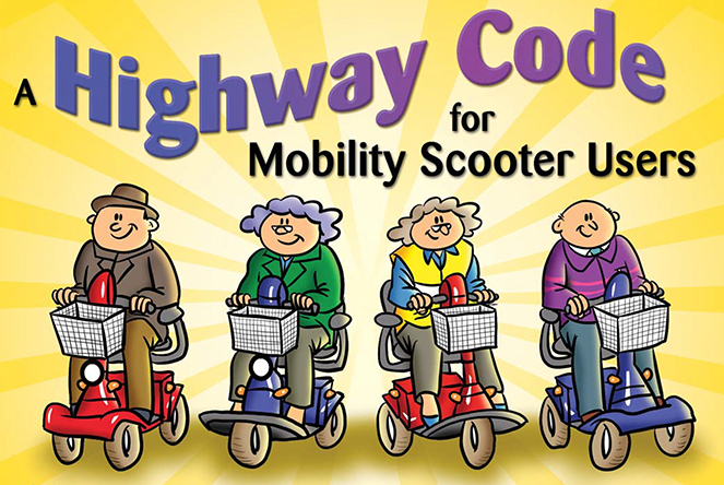 Highway code for mobility scooter users