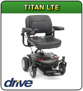 Titan Lte powerchair at 1st Step Mobility