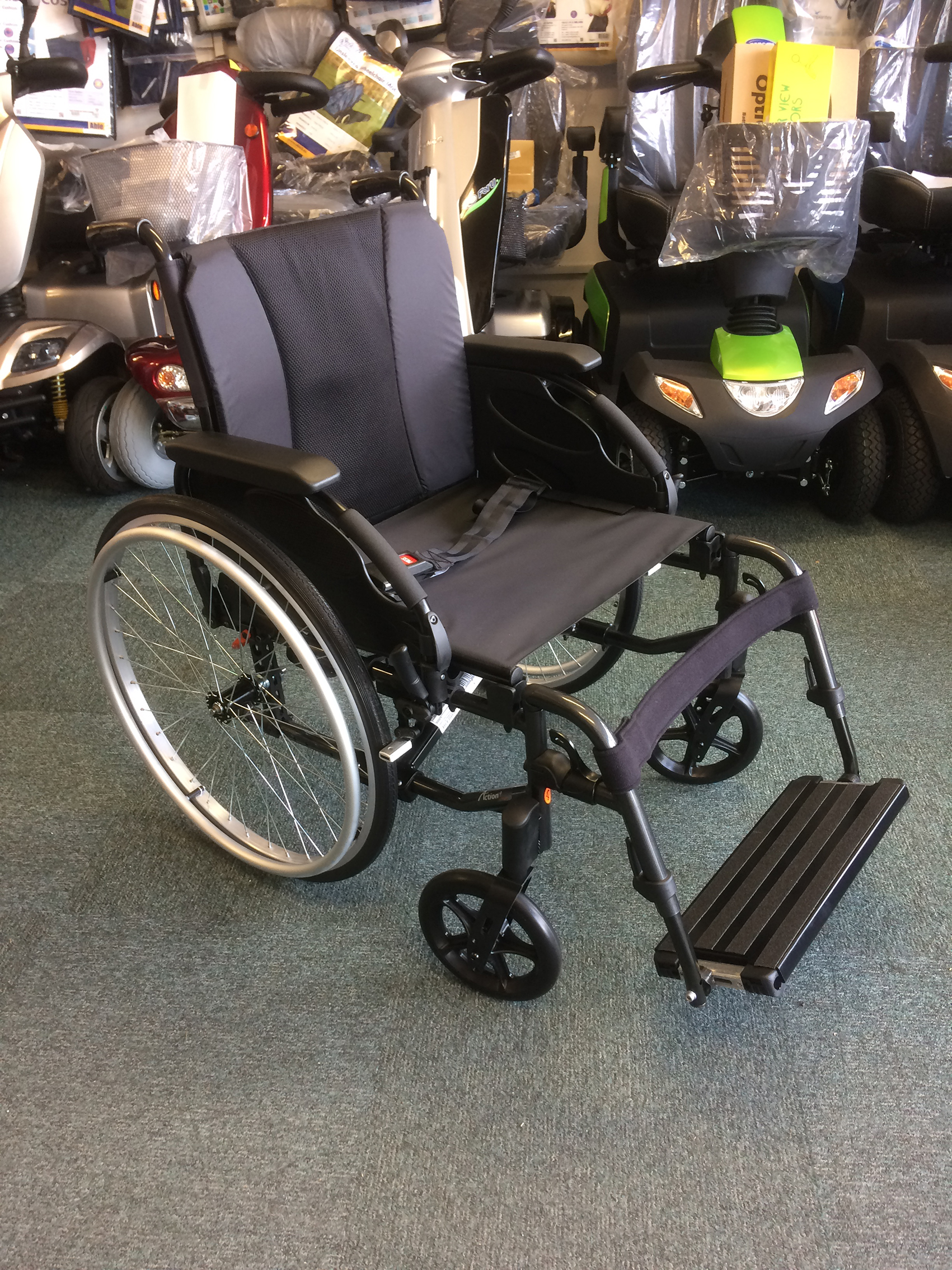Invacare Action 3 Wheelchair 1st Step Mobility