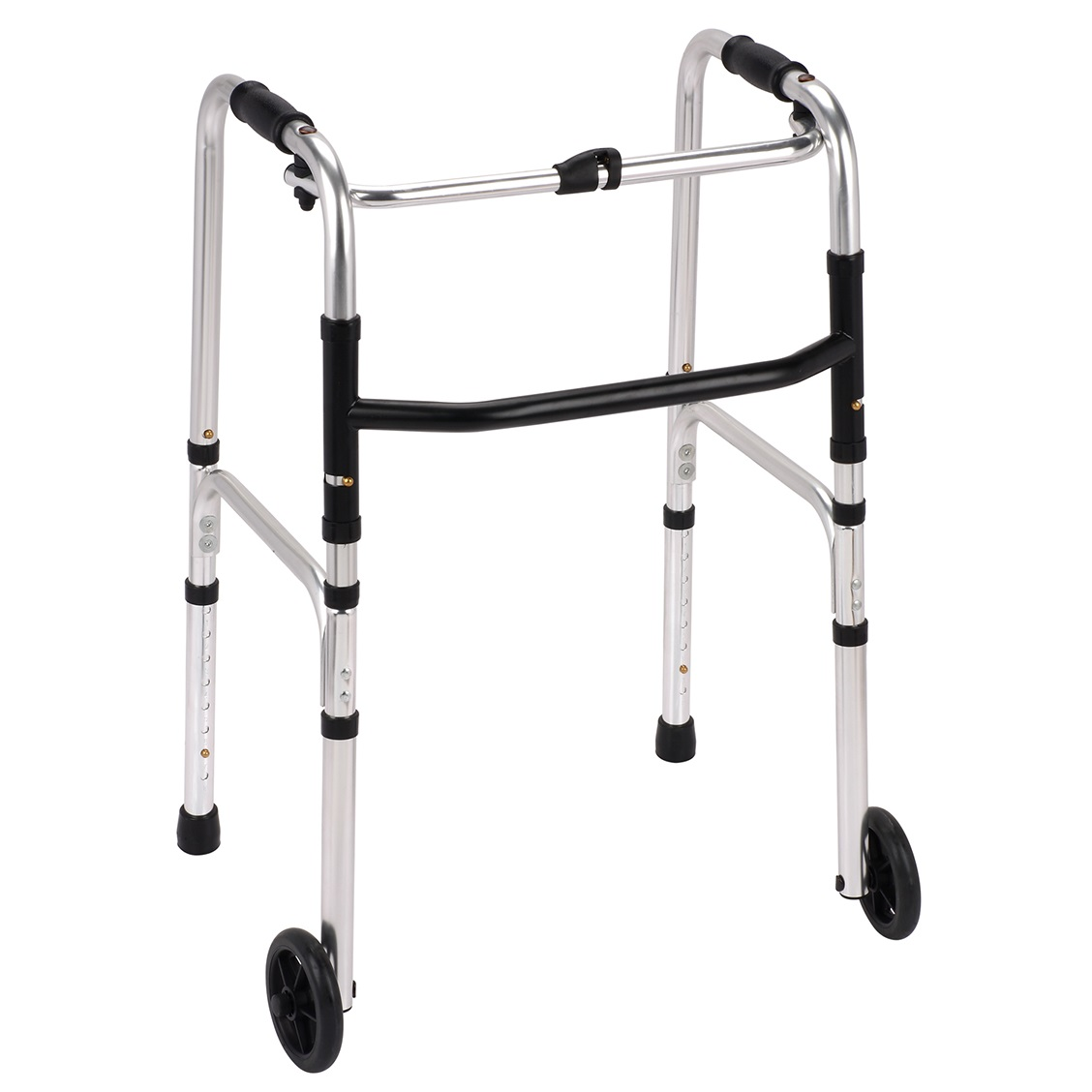Folding Walking Frame With Wheels - 1st Step Mobility