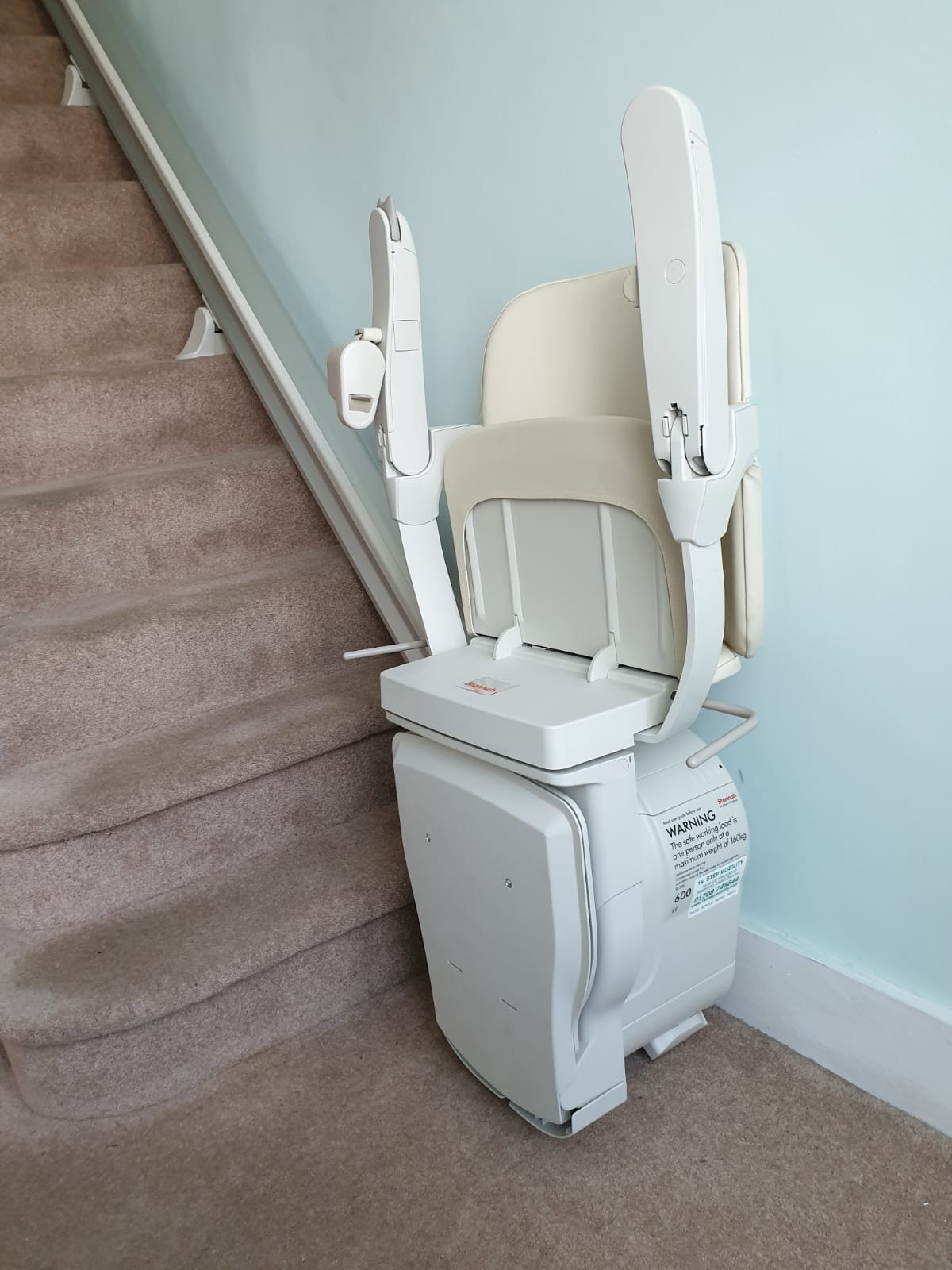 Stannah Straight Stair Lift 1st Step Mobility