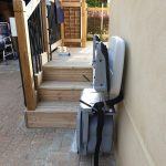 Stannah outdoor stairlift!