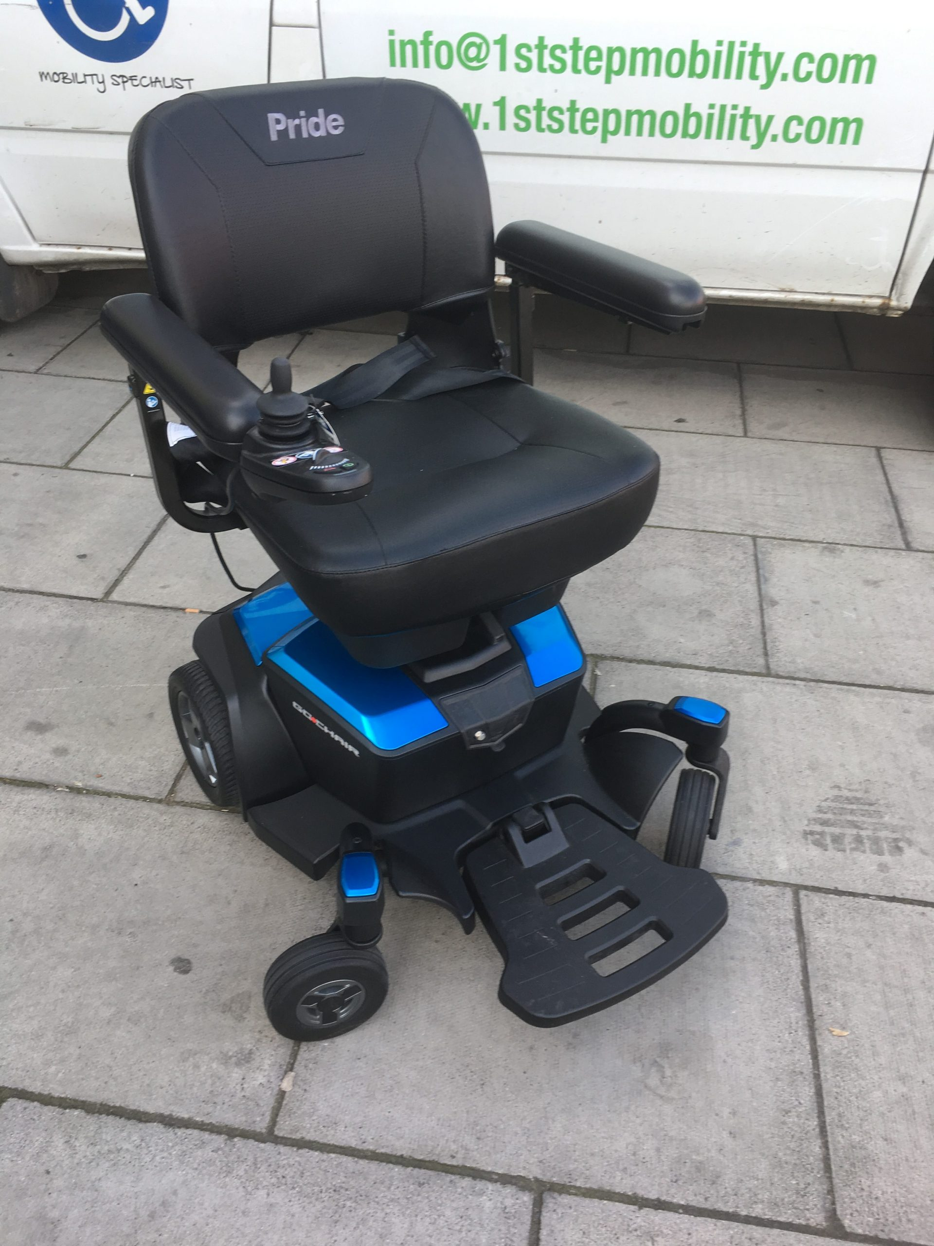2nd Hand Pride Go Chair Travel Powerchair 1st Step Mobility